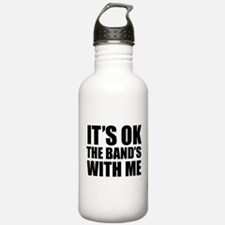 The band's with me Water Bottle