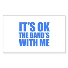 The band's with me Stickers