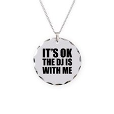 The dj is with me Necklace