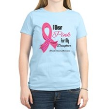 I Wear Pink For My Daughter T-Shirt