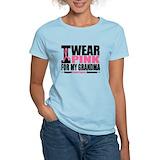 I wear pink for my grandma Women's Light T-Shirt
