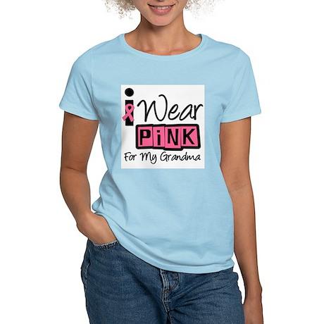 I Wear Pink For My Grandma T- Women's Light T-Shir