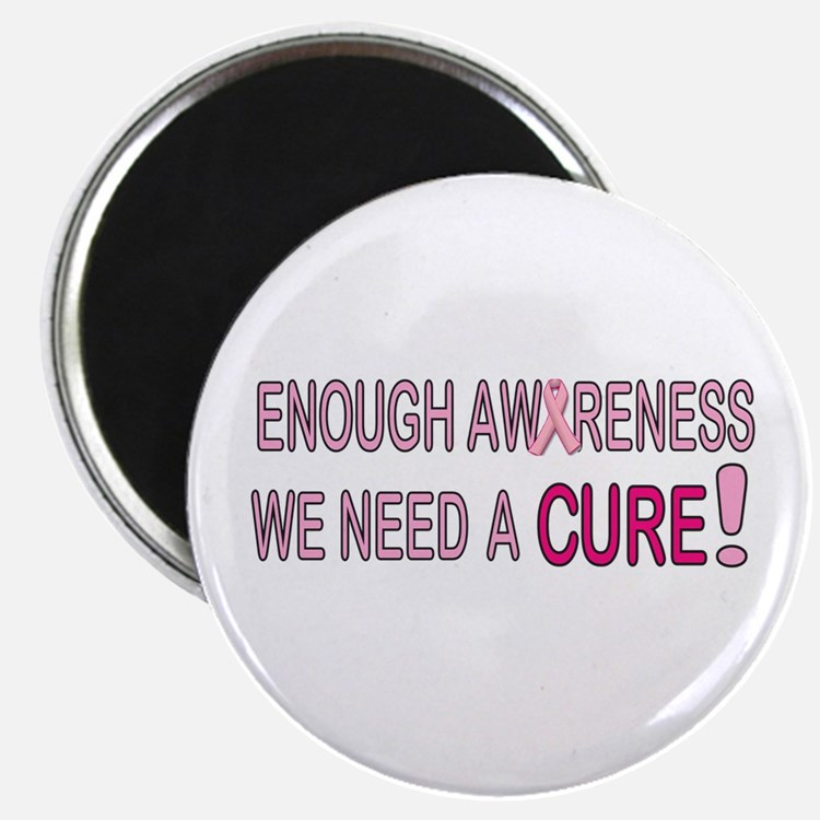 """Enough Awareness 2.25"""" Magnet (100 pack)"""