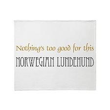 NTG-Norwegian Lundehund Throw Blanket