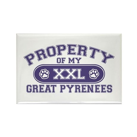 Great Pyr PROPERTY Rectangle Magnet