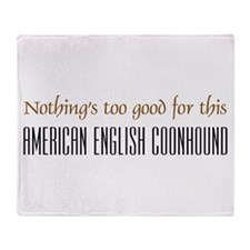 NTG-American English Coonhound Throw Blanket
