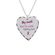 Worth Fighting For - Aunt Necklace