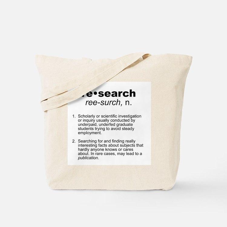Academic Tote Bag