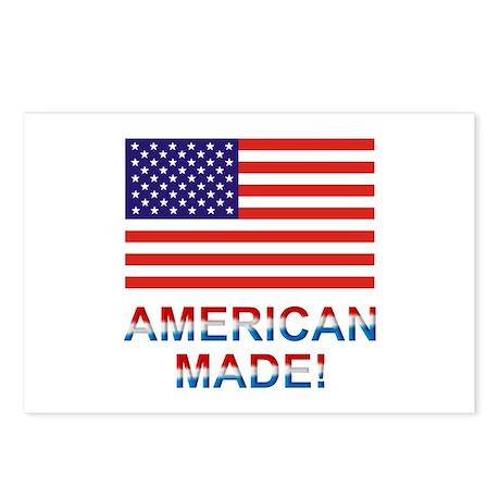 American Postcards (Package of 8)