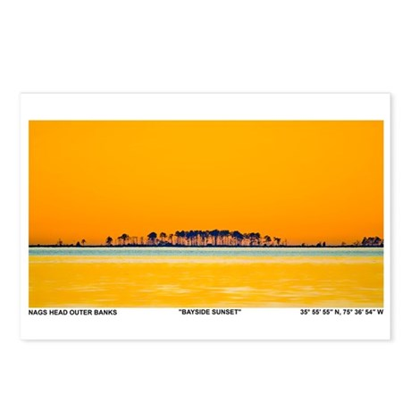 Nags Head OBX Postcards Package Of 8 By Ifishing