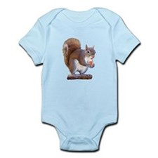 Squirrel on Log Infant Bodysuit