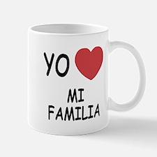 Yo amo mi familia Mug