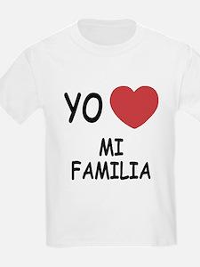 Yo amo mi familia T-Shirt