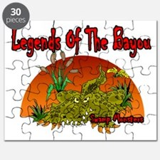 SWAMP MONSTERS Puzzle
