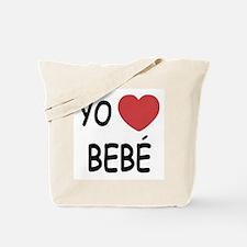 Yo amo bebe Tote Bag