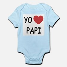 Yo amo papi Infant Bodysuit