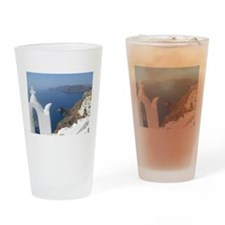 Santorini Drinking Glass