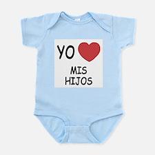 Yo amo mis hijos Infant Bodysuit