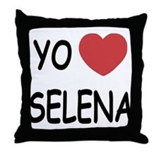 Yo amo Selena Throw Pillow