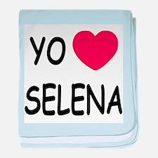 Yo amo Selena baby blanket