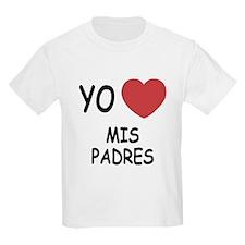 Yo amo mis padres T-Shirt