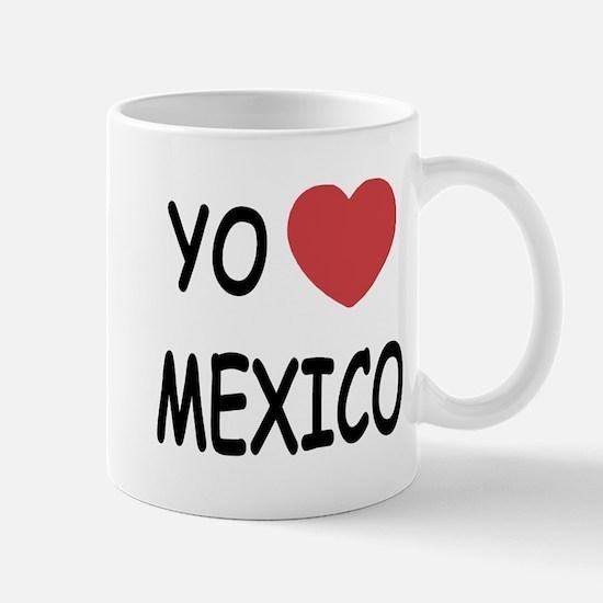 Yo amo Mexico Mug
