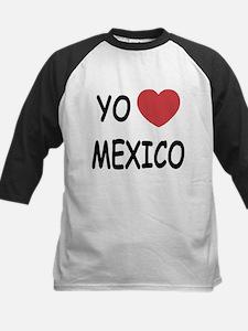 Yo amo Mexico Kids Baseball Jersey