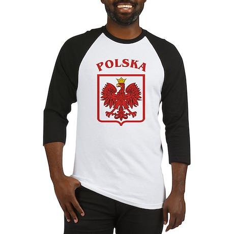 Polish Eagle / Polska Eagle Baseball Jersey