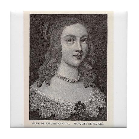 Madame de Sévigné Tile Coaster