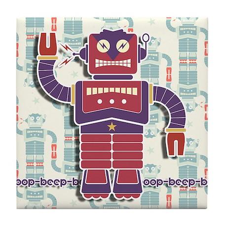 Retrobot Tile Coaster