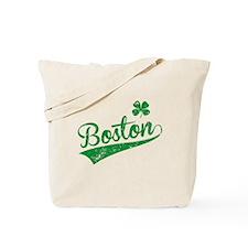 Boston Green Tote Bag