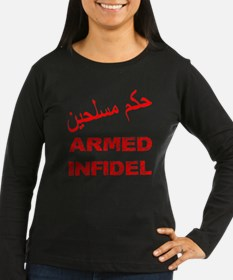 Arabic Armed Infidel T-Shirt