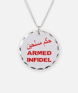 Arabic Armed Infidel Necklace