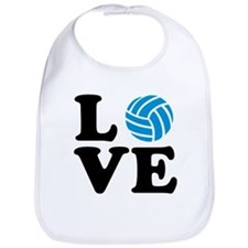 Volleyball love Bib