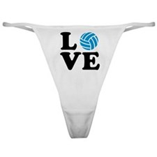 Volleyball love Classic Thong