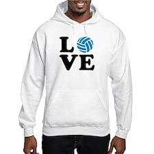 Volleyball love Hoodie Sweatshirt