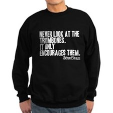 Trombone Quote Jumper Sweater