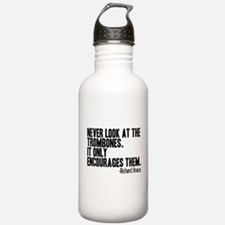 Trombone Quote Water Bottle