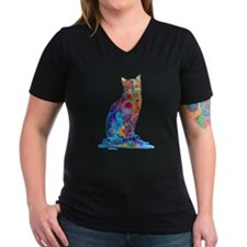 Whimsical Elegant Cat Shirt