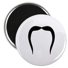 "Funny Mustache beard 2.25"" Magnet (10 pack)"