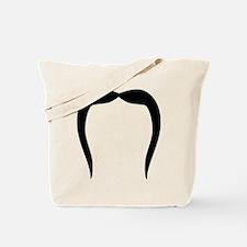 Funny Mustache beard Tote Bag
