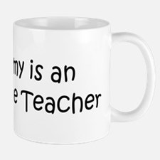 Mommy is a Agriculture Teache Mug