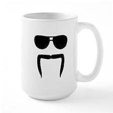 Mustache sunglasses Mug