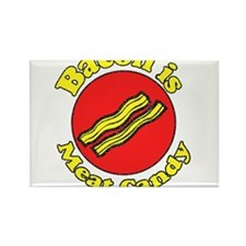 Bacon is Meat Candy 5 Rectangle Magnet (100 pack)