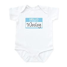 Hello, My Name is Wesley - Infant Bodysuit