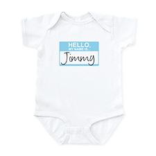 Hello, My Name is Jimmy - Onesie