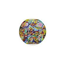 Unique Abstract art Mini Button