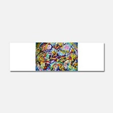 Cute Famous artist Car Magnet 10 x 3