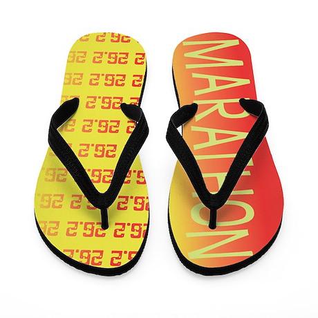 26.2 Marathon SUNRISE Flip Flops