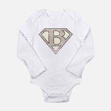 Unique Retro Long Sleeve Infant Bodysuit